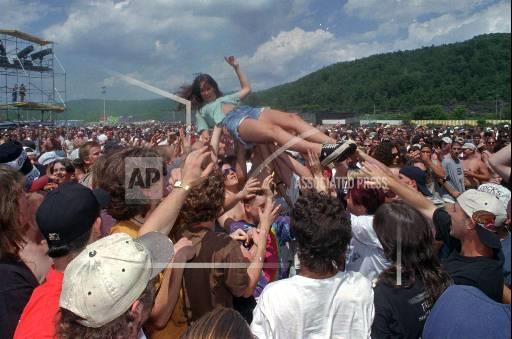 Associated Press Domestic News Vermont United States Entertainment LOLLAPALOOZA