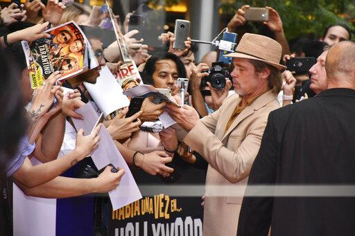 Brad Pitt at the 'Once Upon a Time in Hollywood' Premiere