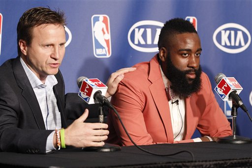 Scott Brooks, James Harden