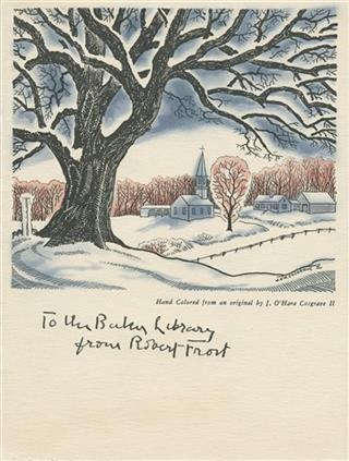 Robert Frost Christmas Cards