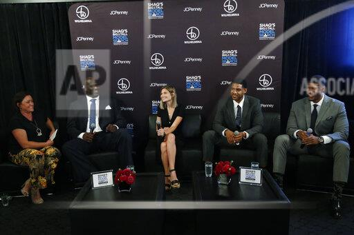 Shaquille O'Neal's Big & Tall Model Search Panel presented by JCPenney