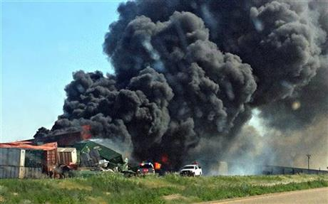 Oklahoma Train Collision