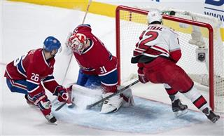 Carey Price Josh Gorges Eric Staal