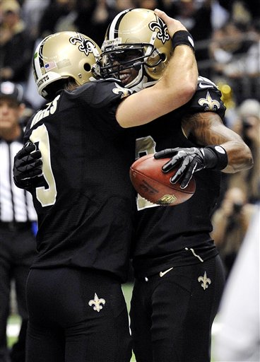 Marques Colston, Drew Brees