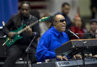 Barack Obama, Stevie Wonder