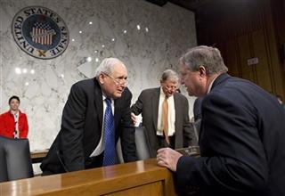 Carl Levin, Michael B. Donley, James Inhofe