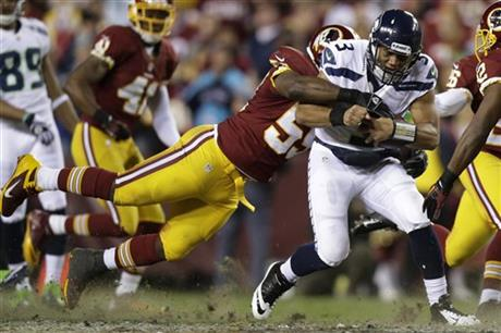 Russell Wilson, London Fletcher