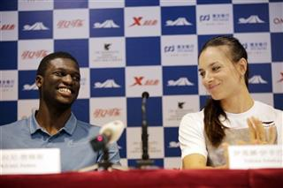 Kirani James, Yelena Isinbayeva
