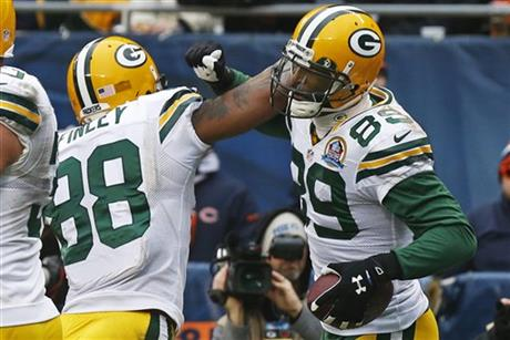James Jones, Jermichael Finley