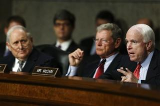 Carl Levin, James Inhofe, John McCain