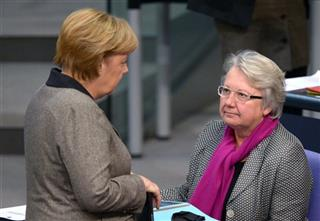 Anette Schavan, Angela Merkel