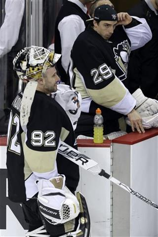 Marc-Andre Fleury, Tomas Vokoun