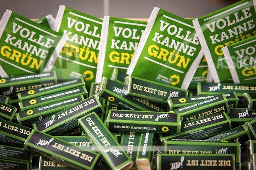 Election campaign with Fegebank and Kretschmann
