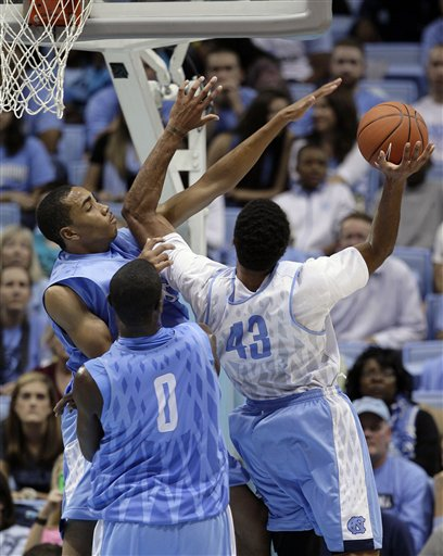 Brice Johnson, Joel James, James Michael McAdoo