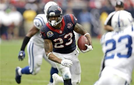 Arian Foster, Vontae Davis