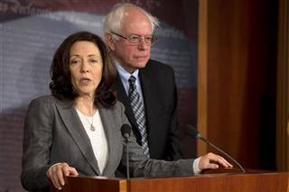 Bernie Sanders, Maria Cantwell