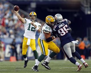 Aaron Rodgers, David Bakhtiari, Chandler Jones,