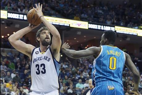 Marc Gasol, Al Farouq Aminu