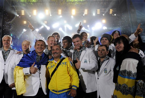 Ukraine London Olympics