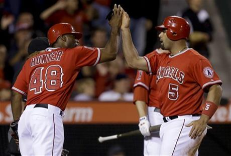 Torii Hunter, Albert Pujols