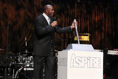 "Earvin ""Magic"" Johnson Launches ASPiRE Television Network With a Gala in New York"
