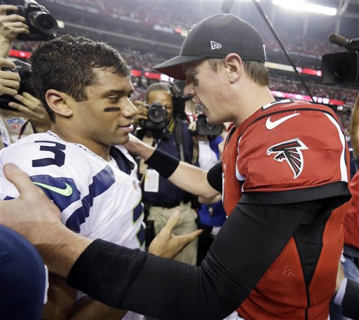 Matt Ryan,Russell Wilson
