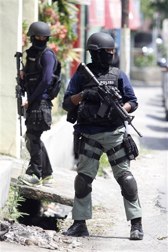 Indonesia-Terror Arrests
