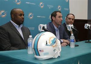 Chris Grier, Adam Gase, Mike Tannenbaum