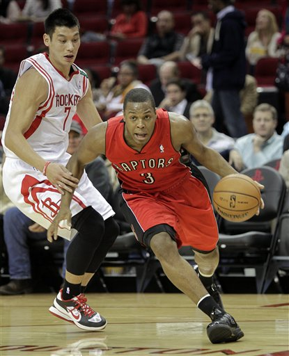Jeremy Lin, Kyle Lowry