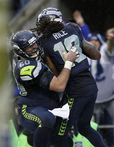 Sidney Rice, Max Unger