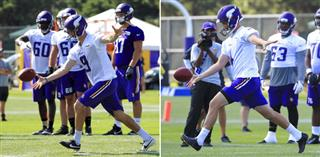 Vikings Punter Audition Football