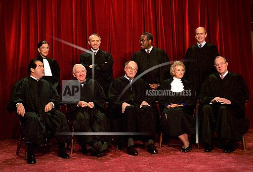 Associated Press Domestic News Dist. of Columbia United States U.S. SUPREME COURT