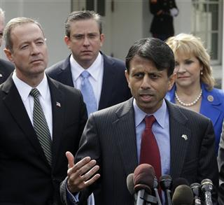 Martin O&#039;Malley, Alejandro Garca Padilla, Mary Fallin, Bobby Jindal