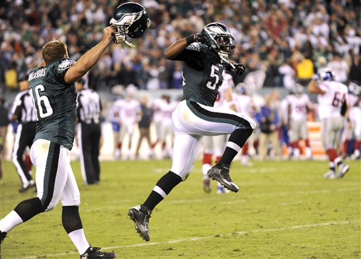 Jamar Chaney, Jon Dorenbos