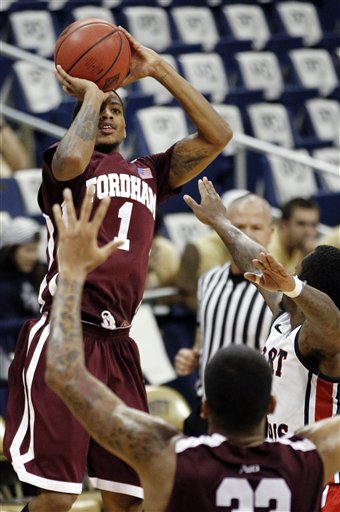 Fordham Robert Morris Basketball