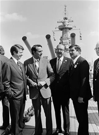 Jim Holshouser, Robert Dole, Jesse Helms, David Flaherty