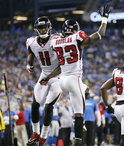 Julio Jones, Harry Douglas