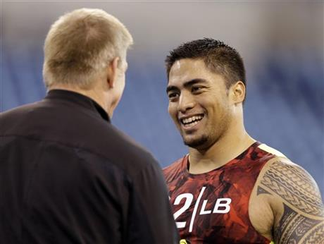 Manti Te&#039;o, Jim Leavitt
