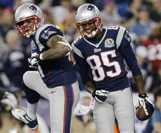 Brandon Lloyd, Aaron Hernandez