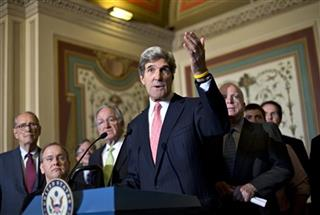 John Kerry, Tom Harkin, Jim Langevin, Richard Thornburgh, John McCain