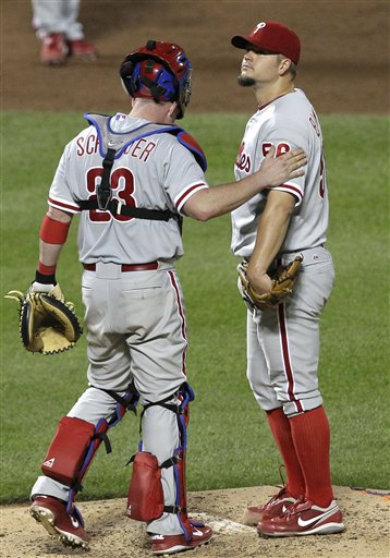 Brian Schneider, Joe Blanton