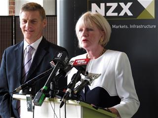 Bill English, Joan Withers