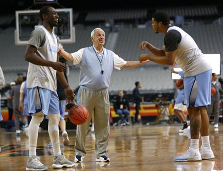 Roy Williams, Theo Pinson, Kennedy Meeks