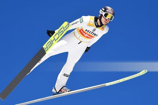 Finland World Cup Ski Games Nordic Combined