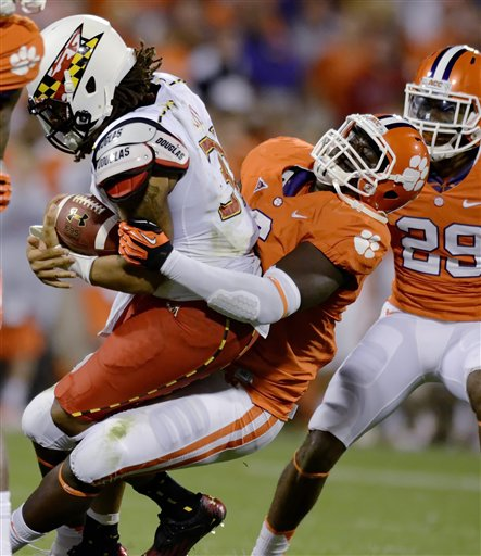 Maryland Clemson Football
