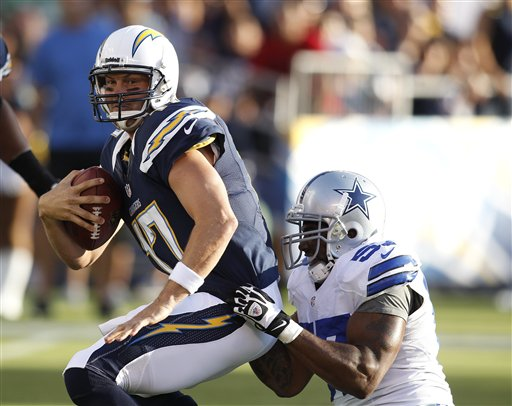  Philip Rivers,  Victor Butler
