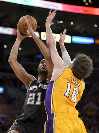 Tim Duncan, Pau Gasol,
