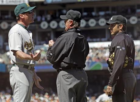 Bob Melvin, Jim Reynolds, James Hoye