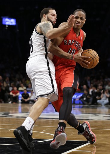 Deron Williams, DeMar DeRozan
