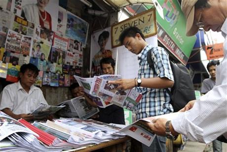 Myanmar Easing Censorship